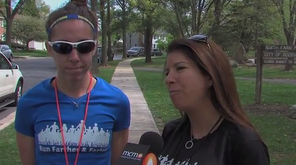 photo of Lisa Reichmann and Julie Sapper, co-founders Run Farther and Faster