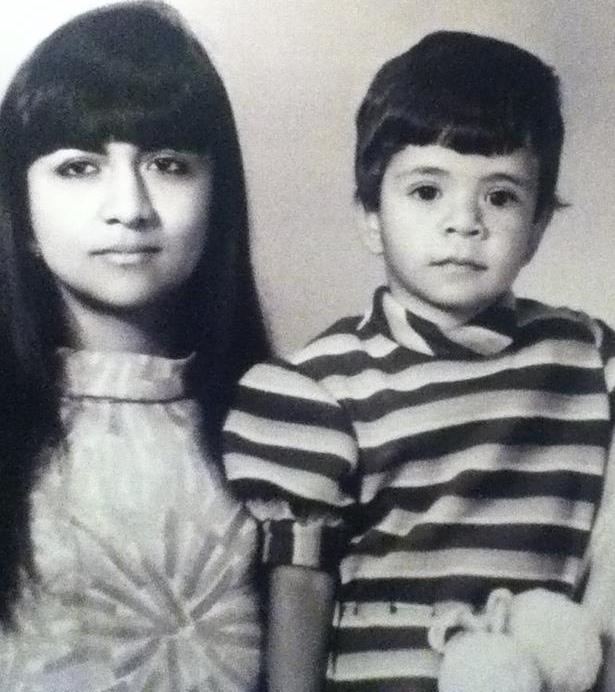 Councilmember Nancy Navarro and her mother Mina.