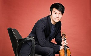 photo of violinist Ray Chen