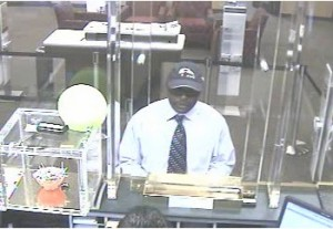 Bank robbery suspect May 28 at Wells Fargo in Bethesda   Montgomery County Police