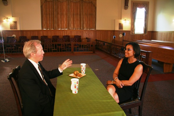 photo of Montgomery County Councilmember Phil Andrews and Associate District Court Judge Karla Smith