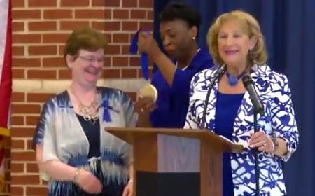 photo of Cashell ES Celebrates Maryland Blue Ribbon