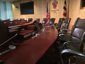 County Council hearing room 1