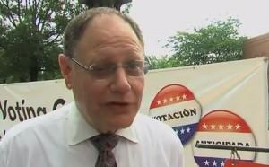 photo of Mayor Sidney Katz on Early Voting