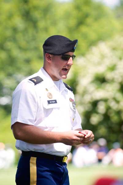 Sargent Chad Setser, Pentagon.