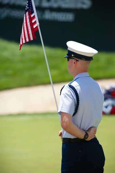 Lt Kevin Undeck, US Coast Guard, on 17