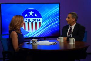 Primary Election Night 2014  Steve Simon and Susan Kenedy