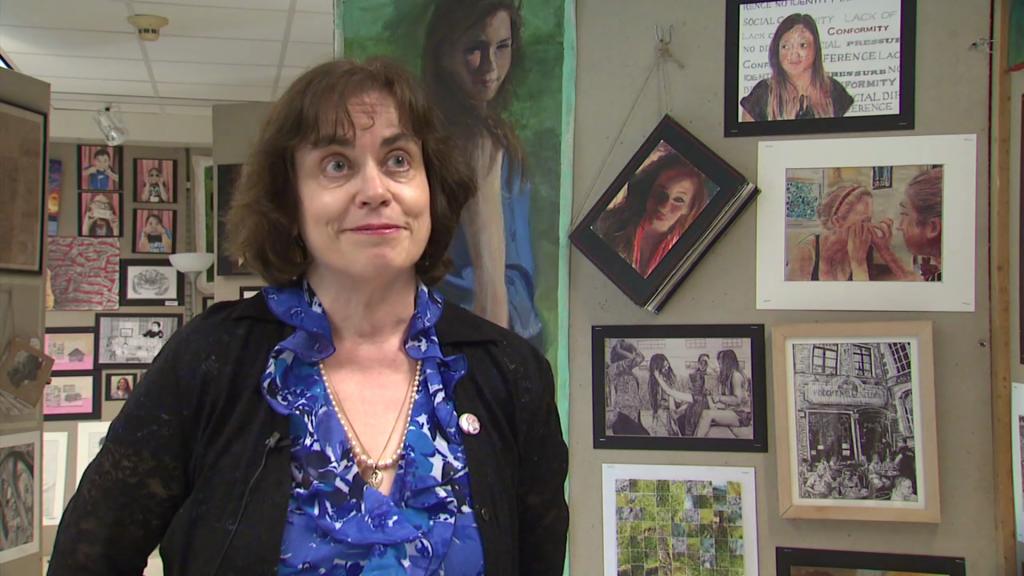 program director of artwork at MCPS Visual Art Center at Einstein High School