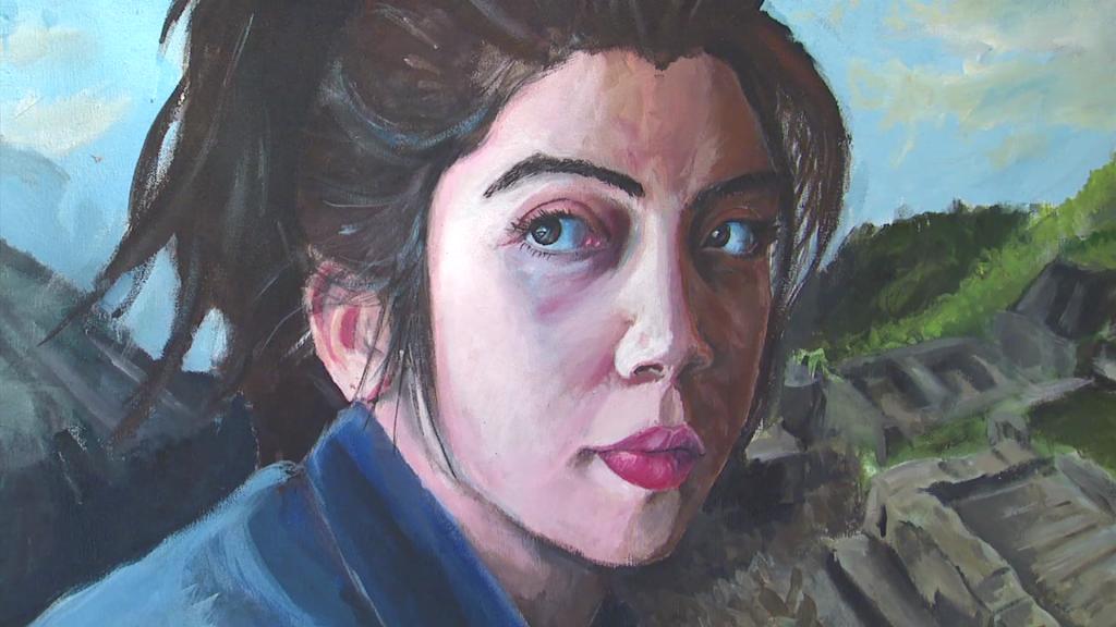artwork at MCPS Visual Art Center at Einstein High School