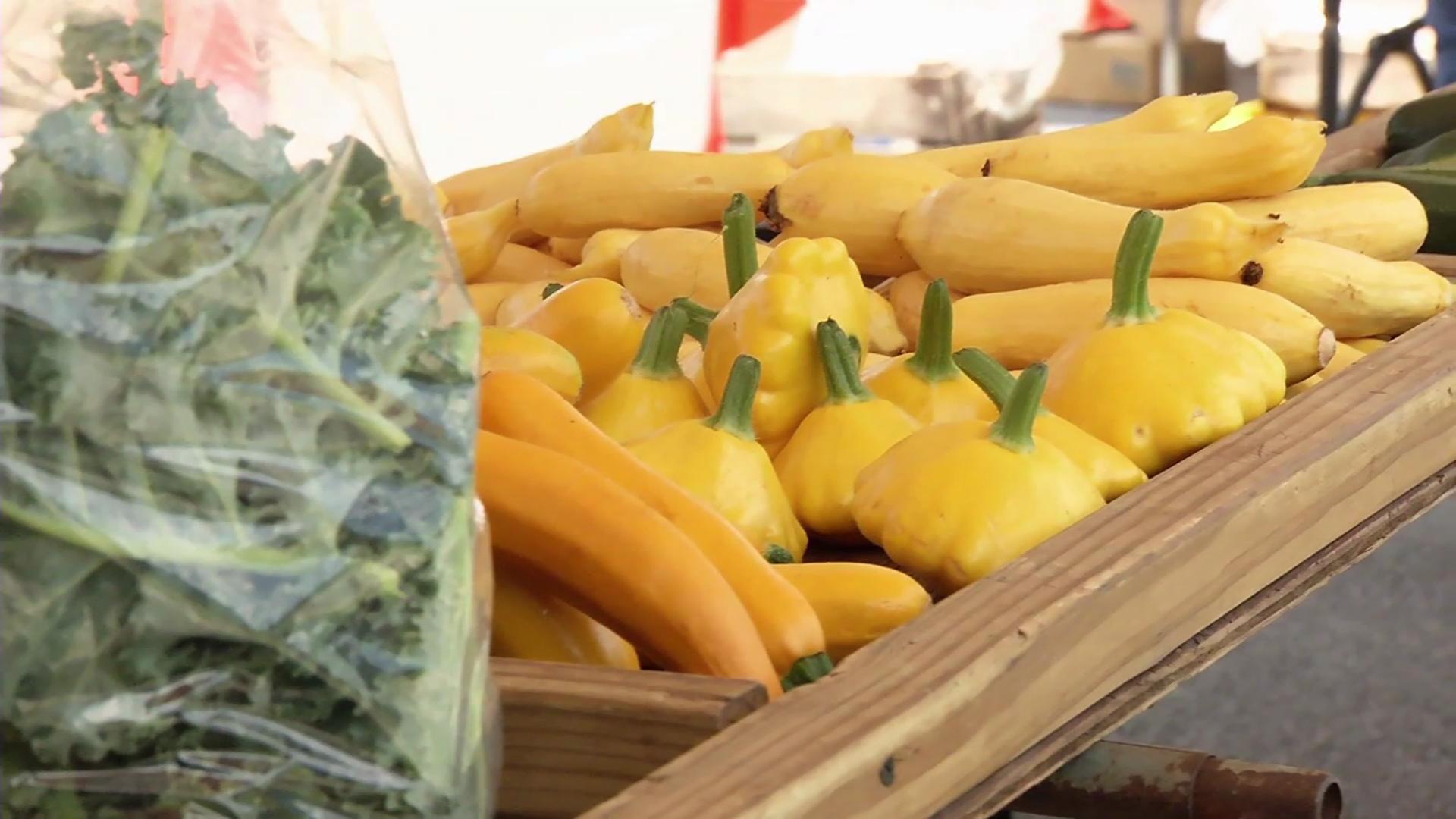 photo of produce at Crossroads Farmers Market Takoma Park