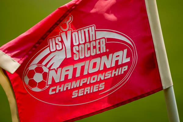 photo of US Youth Soccer National Champtionship Series flag