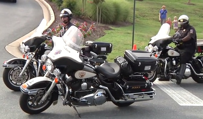photo of MoCo Motorcycle Policemen