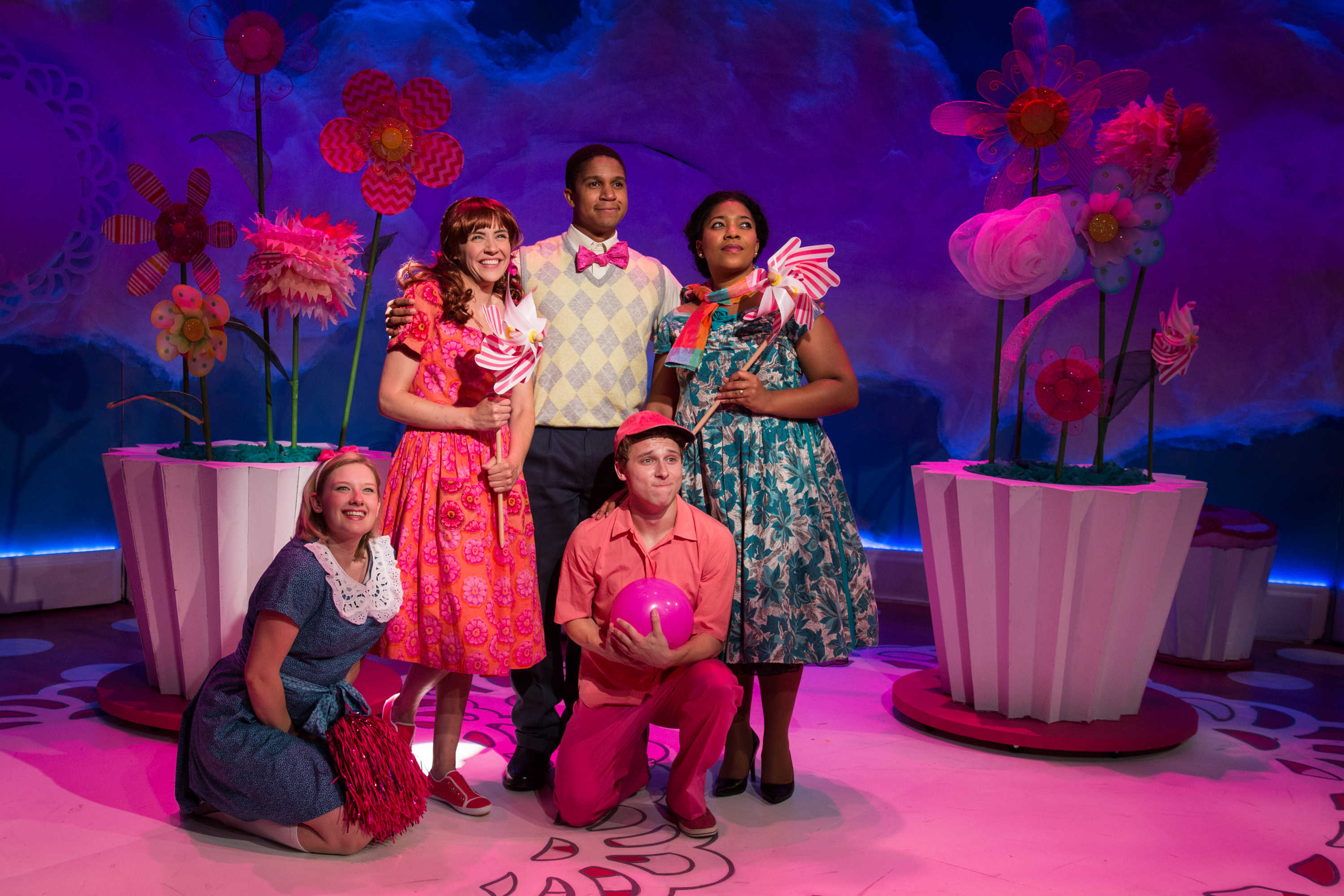 photo of cast of Pinkalicious