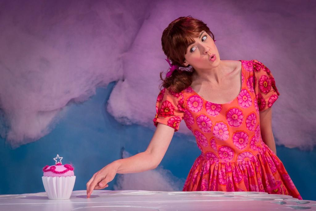 photo of Carolyn Agan as Pinkalicious