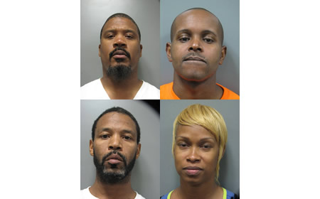 photo of four suspects in June 16 silver spring robbery
