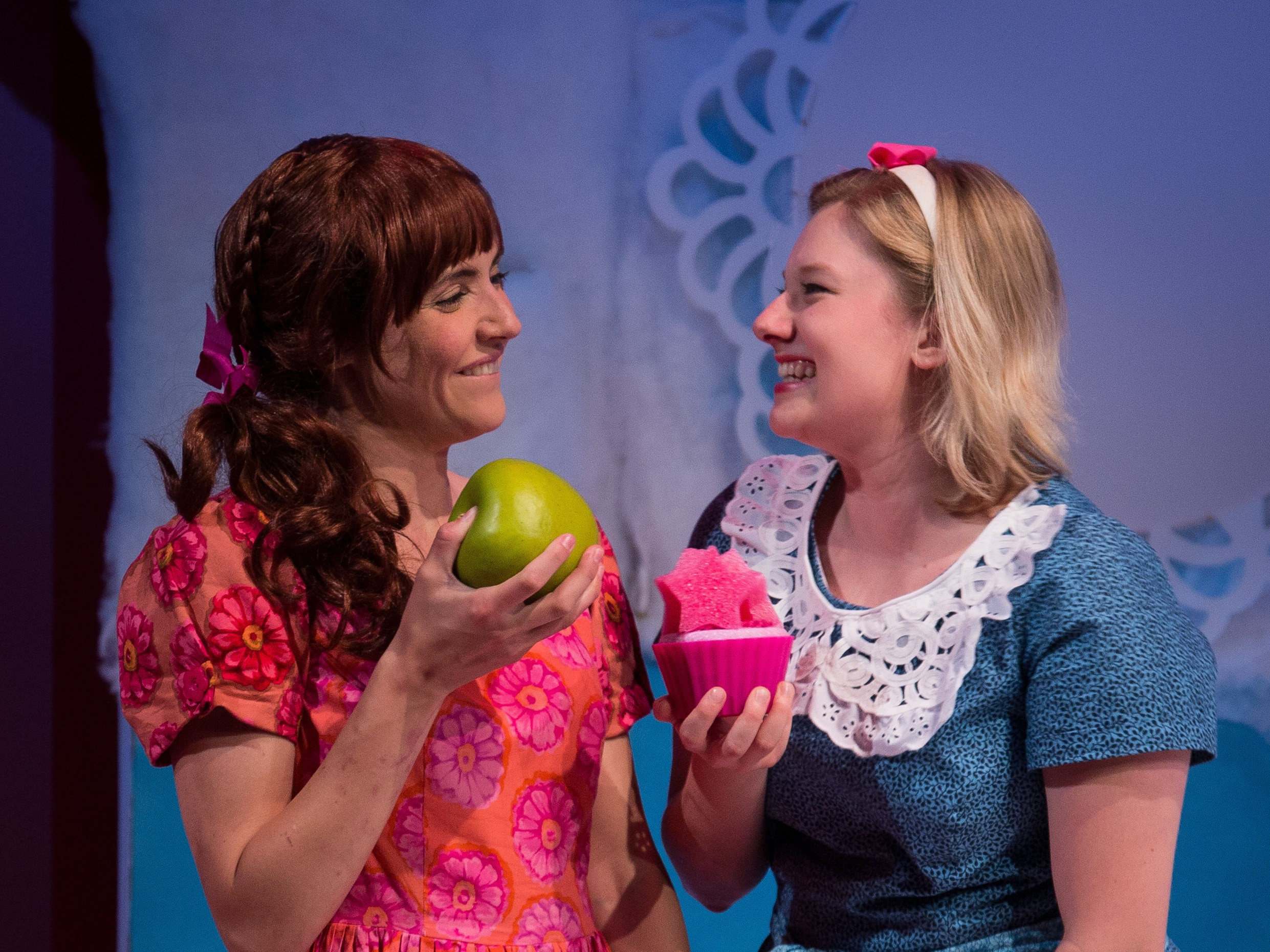 photo of Adventure Theatre's production of Pinkalicious