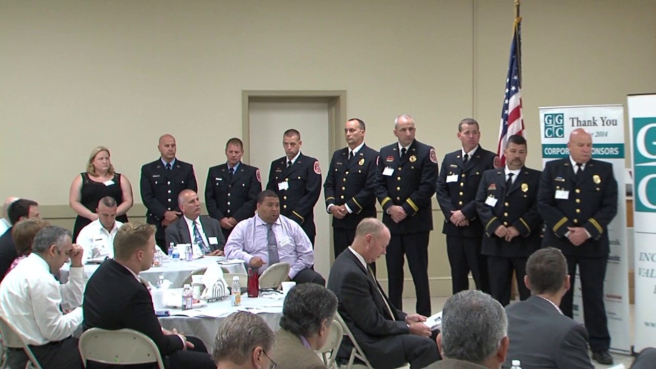 photo from GGCC public safety awards
