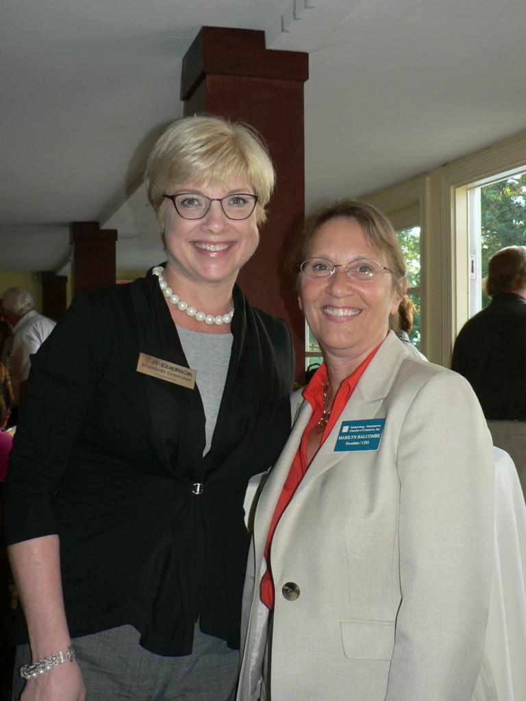 photo of Elizabeth Cromwell and Marilyn BAlcombe