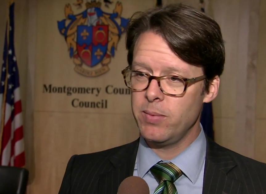 photo of Montgomery County councilmember Hans Riemer
