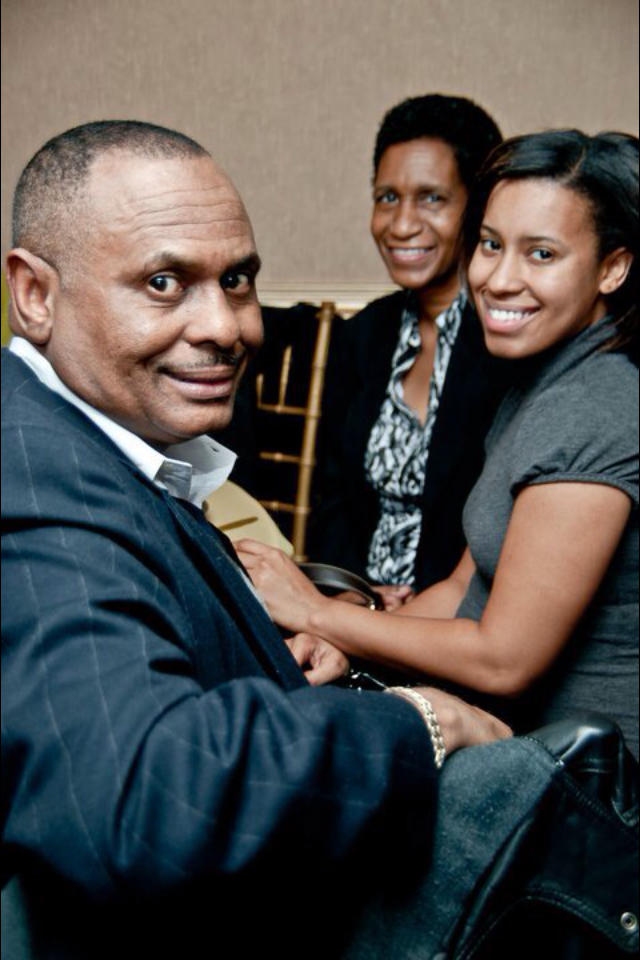 photo of Frank Nelson and family