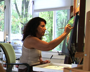 Rosana Azar, an internationally recognized artist, helps us celebrate Hispanic Heritage at Somos.