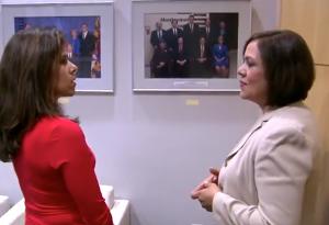 Councilmember Nancy Navarro sharing her inspirational story during Hispanic Heritage Month.