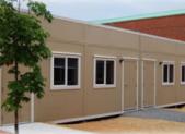 Relocatable classroom PHOTO  MCPS