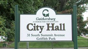 Gaithersburg City Hall Sign