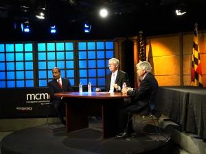 photo of County Executive Forum at MCM studios