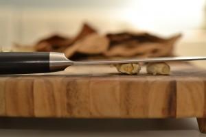 smashing garlic. photo by lindsey seegers