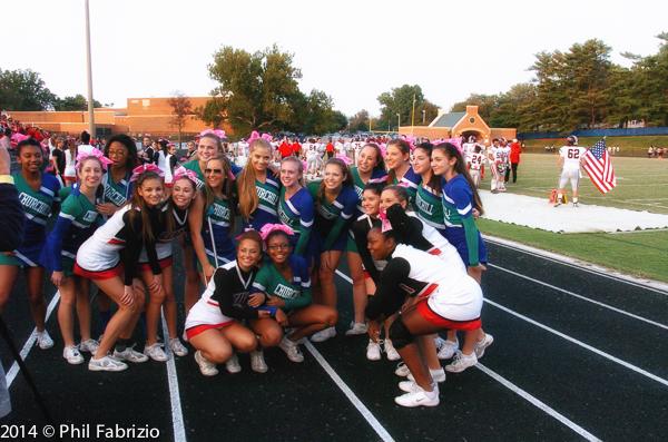 Herding Cheerleaders
