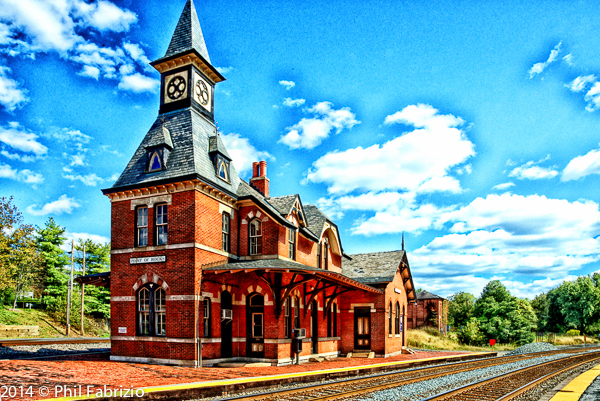Point of Rocks Train Station