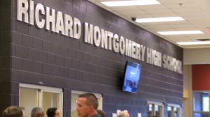 photo of Richard Montgomery High School Sign