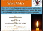 Interfaith Prayer Service for Ebola Relief