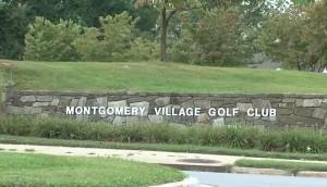 Montgomery Village Golf Course sign