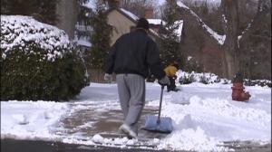 Man shoveling snow 1