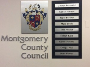 County Council Sign