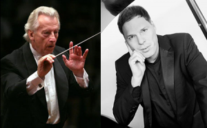 Günther Herbig and Alon Goldstein Photo   BSO
