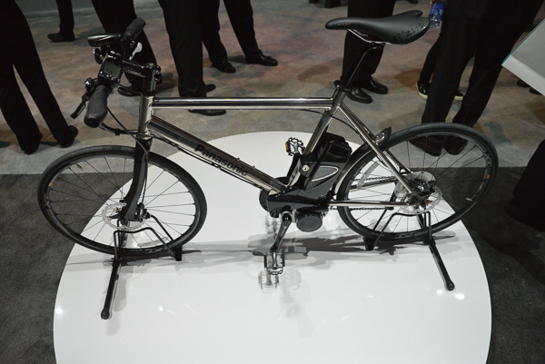 Of course - a subject near and dear to me - a bicycle - This on is an electric powered bike.