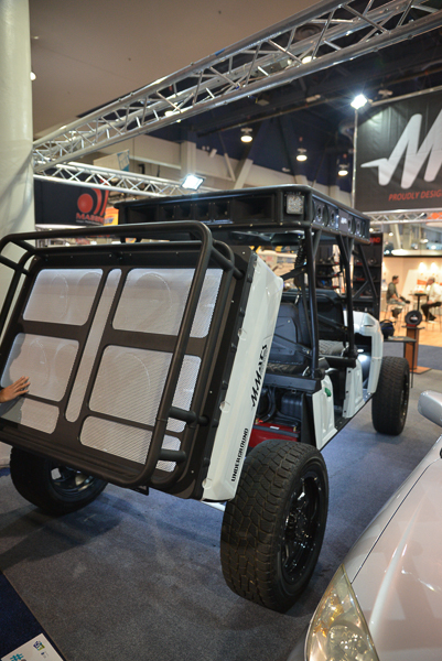 I gotta have one of these 4 wheeled Boom Boxes - as seen at CES in the North Hall
