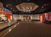 The renovated lobby at Paragon Pavilion in Naples, Florida.