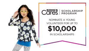 Kohl s Cares® Scholarship Program