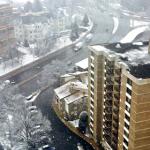 photo of snowfall 1/21/15