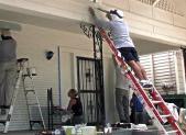 Volunteers working at Jersey Shore