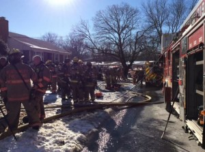 Silver Spring House Fire on Admiralty Drive