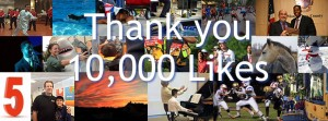 10K FB Likes photo mix white text FB Blue drop shadow