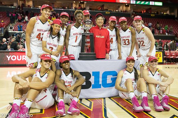2014-2015 B1G Regular Season Champions