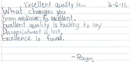 Quality post- Rayn