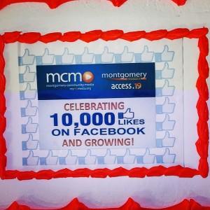10 K cake!