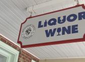 County Liquor Store Sign